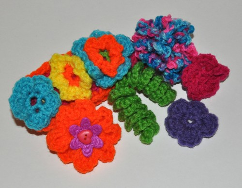 Floral Embellishments Crochet Patterns