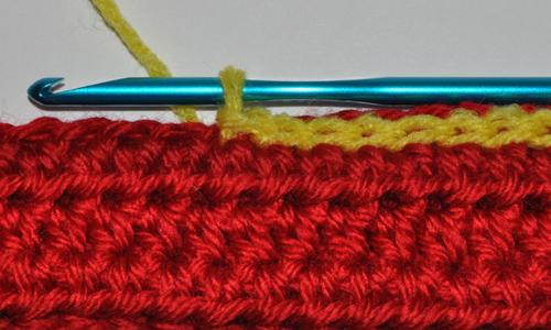 Slipstitch Seam Example Front