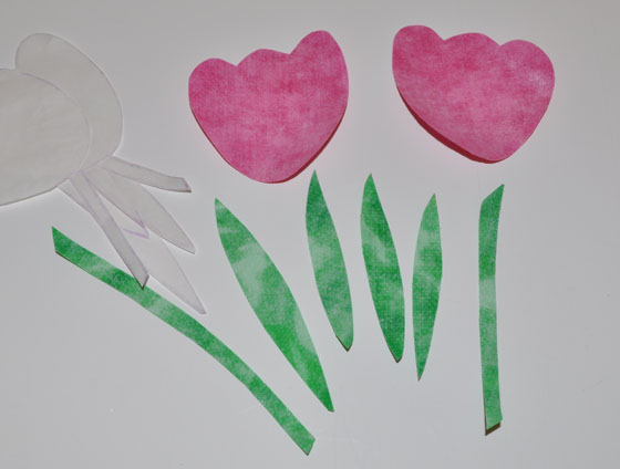 Peel Paper Backing Off Applique Motifs