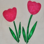Finished Applique Using Fusible Web