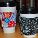 Free Cup Cozy Sewing Pattern from Stitchwerx Designs