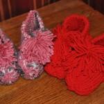 Grandma's Knitted Booties Free Knitting Pattern