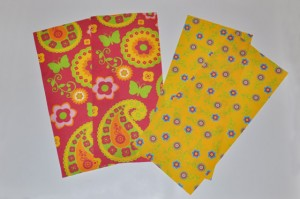 Paisley and Floral retro fabrics