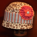 Stitchwerx Designs Cloche Hat Side View