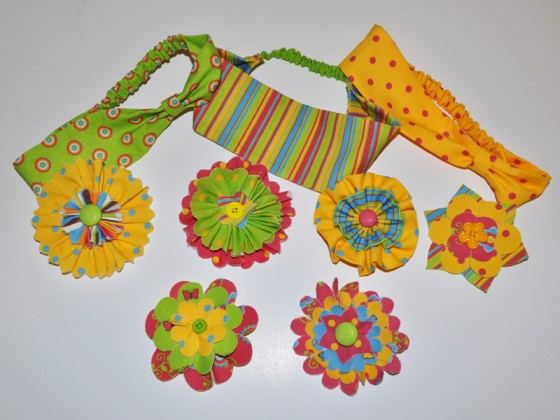 Headband and Flowers