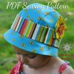 Darling Dahlia Cloche Hat Sewing Pattern