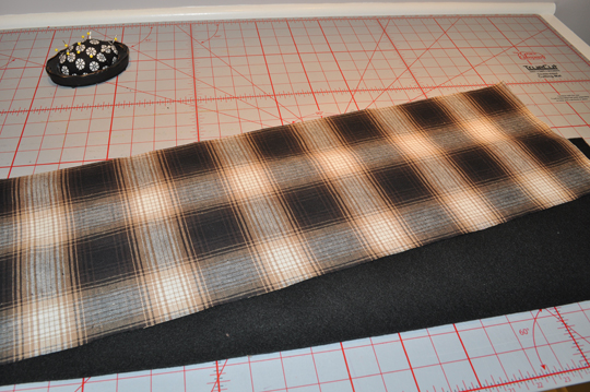 Cut Fabric Panels
