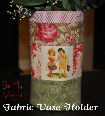 Fabric Vase Holder