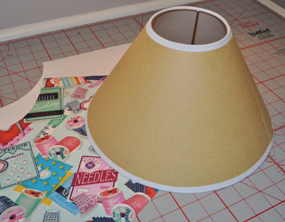 Ready-to-Cover Lamp Shade