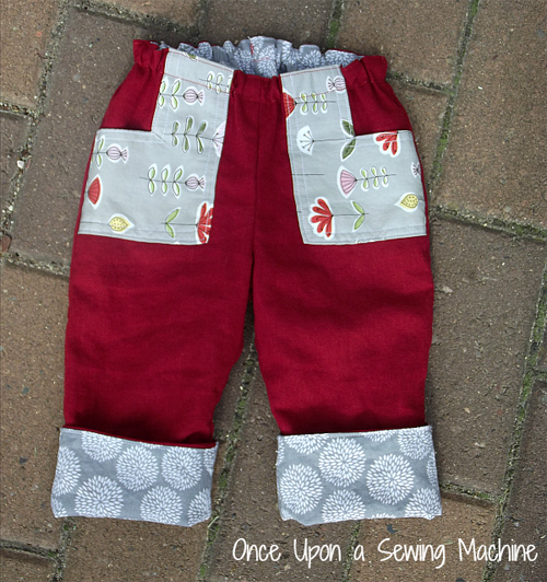 Once Upon a Sewing Machine Roly Poly pants