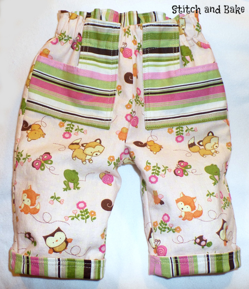 Stitch and Bake Roly Poly pants