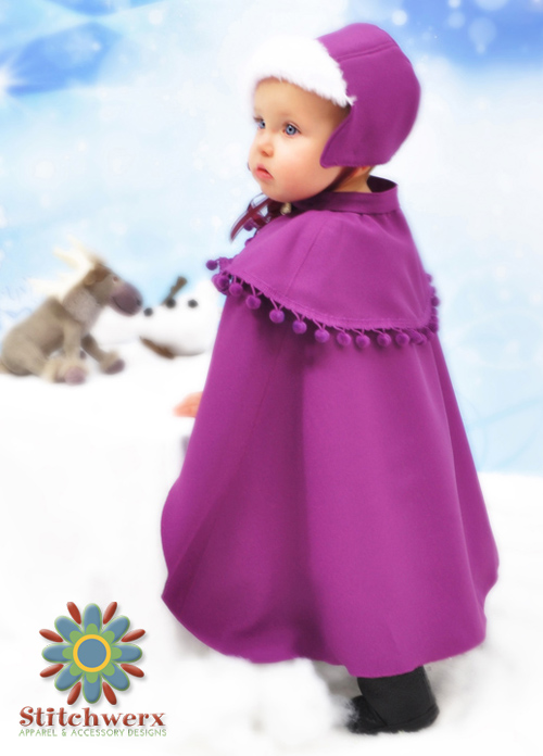 Princess Anna Cape & Hat