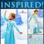 Frozen Inspired Princess Elsa Dress