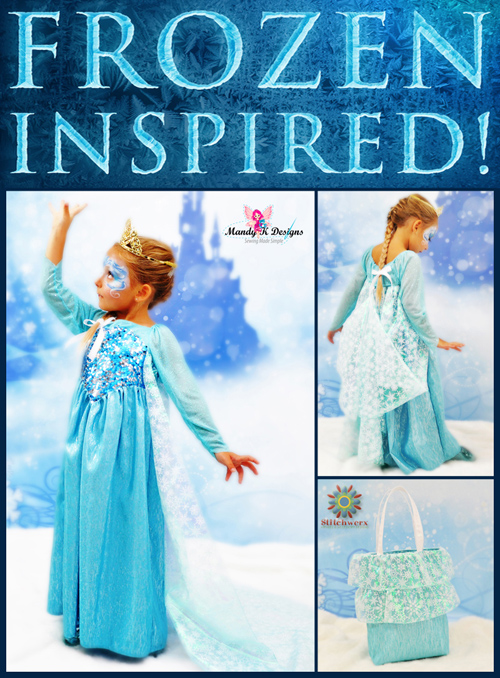 Frozen Inspired Princess Elsa Dress