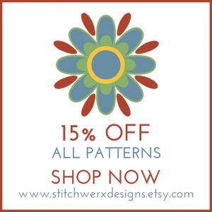 Stitchwerx Designs 15% Off Sale